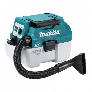 Vacuum cleaner Makita DVC750LZ; 18 V; HEPA (without battery and charger)