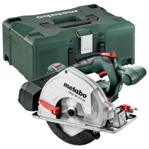 Cordless circular saw Metabo MKS 18 LTX; 18 V (without battery and charger)