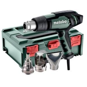 Heat blower Metabo HGE 23-650 LCD + metaBOX 145