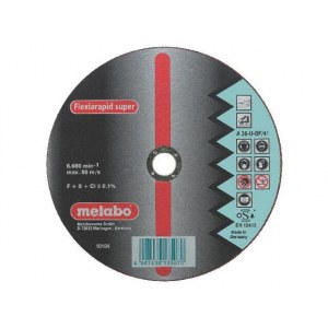 Abrasive cutting disc Metabo; 125x1,6 mm for metal