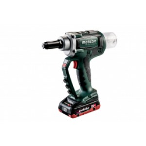 Cordless riveting tool Metabo NP 18 LTX BL 5.0; 18 V; 2x4,0 accu.