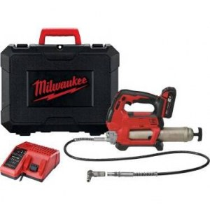 Cordless grease gun Milwaukee M18 GG-201C; 18 V; 1x2,0Ah accu.