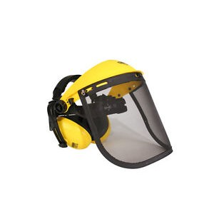 Safety shield with earmuffs Oregon 515061