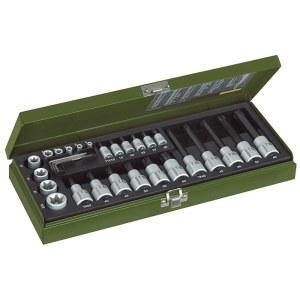 Socket Set Proxxon 23103; TX; 1/4''; 1/2''; 29 units