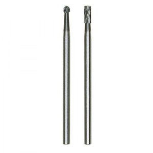 Tungsten vanadium milling bit set Proxxon; 2 units