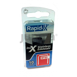 Staples Rapid; 1080 pcs; Type 53/8; stainless steel