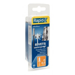 Rivets Rapid; 4 mm; 16 mm; 50 units
