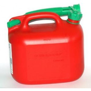 Fuel can  red (5l)