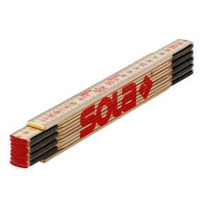 Wooden folding ruler Sola H 2/10; 2 m