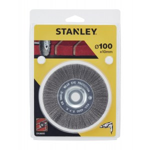 Tapered brush Stanley; 100x10 mm