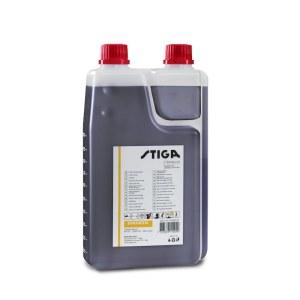 Oil for fuel mix blending for two-stroke motors Stiga 1111923001; 1L (with dosimeter)