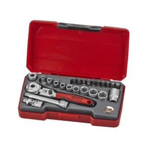 Socket Set Teng Tools T1424S; 24 units