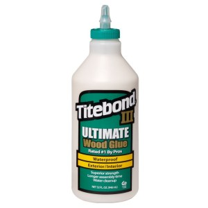 Wood glue Titebond III Ultimate; 948 ml