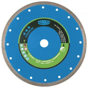 Diamond cutting disc for dry cutting Tyrolit; 125 mm