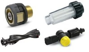 Accessories for high pressure cleaners