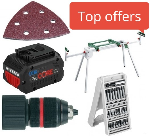 Accessories for tools and machines